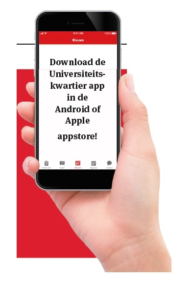 Download de Universiteitskwartier App